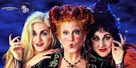 Hocus Pocus (1993) - Community Drive-In (w/ Four Brothers Venezuelan Food) tickets