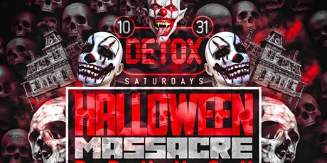 Halloween Rooftop Massacre   | Brunch | Day Party | Hookah tickets