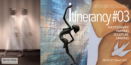 itinerancy #03 presented by Women Artists from France to USA tickets