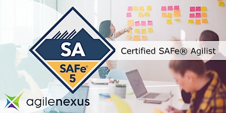 Leading SAFe 5.0 (SAFe Agilist certification) - VIRTUAL - Oct30 tickets
