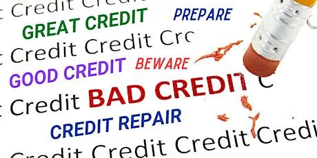 Credit Prepare, Credit Beware, Credit Repair: Credit Empowerment Series tickets