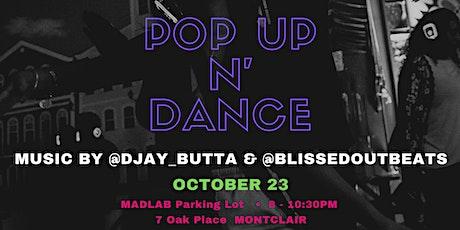 POPUP N'DANCE/MONTCLAIR DESIGN WEEK silent disco tickets
