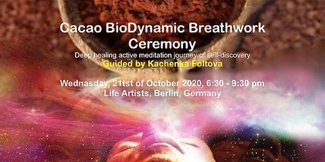 Cacao BioDynamic Breath Ceremony tickets