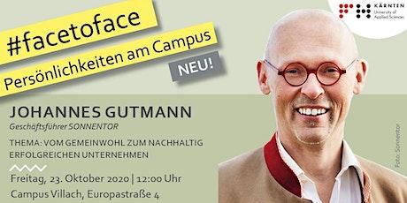 face2face: Vom Gemeinwohl zum nachhaltig erfolgreichen Unternehmen Tickets