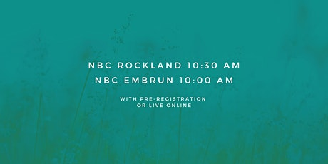 Rockland - Sunday Service 10:30 AM (October 4th, 2020) tickets