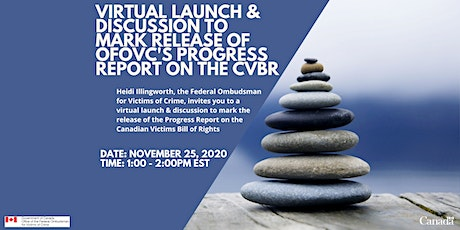 Virtual Launch & Discussion to mark release of the Progress Report on CVBR tickets