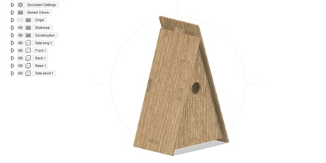 Make a birdhouse in Fab Lab Plymouth tickets