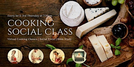 Feeding The Soul: Online Biblical Cooking Social & Community Service tickets