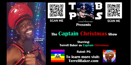 The Live Streamed Captain Christmas Show - Staring Terrell Baker