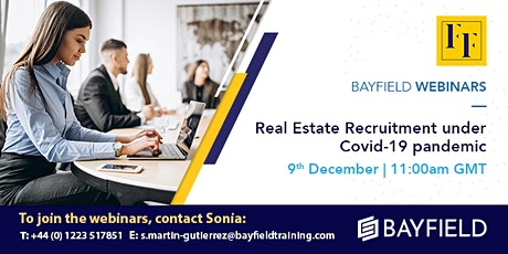 Property Webinar: Real Estate Recruitment under Covid-19 Pandemic tickets