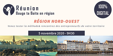 Région Nord-Ouest - Venez vivre la méthode Bouge ta Boite en digital ! tickets
