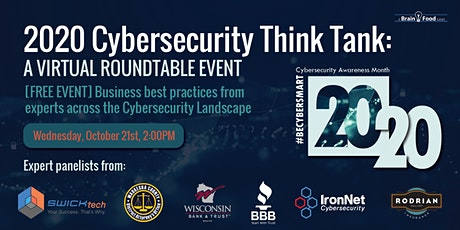 2020 Cybersecurity Think Tank tickets