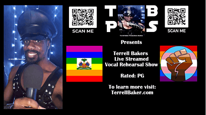 Terrell Bakers   I'm Here To Lift You Up   Live Streamed Concert