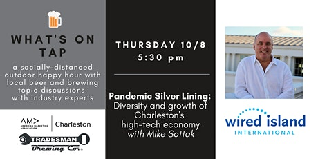 What's On Tap Happy Hour:  Silver Lining of Pandemic & Technology tickets