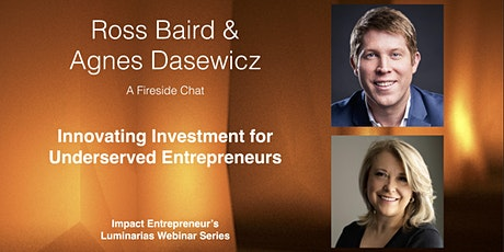 Innovating Investment for Underserved Entrepreneurs tickets