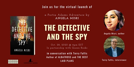 Virtual Launch: The Detective and the Spy by Angela Misri tickets
