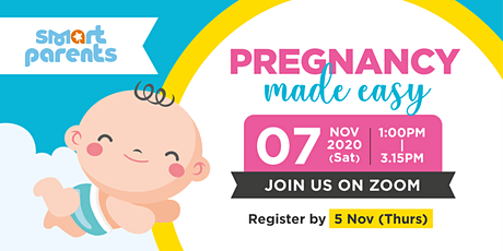 Pregnancy Made Easy by SmartParents tickets