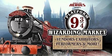 Hall of Heroes 9 3/4 Wizarding Market tickets
