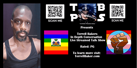 Terrell Bakers In Depth Conversation Live Streamed Talk Show tickets