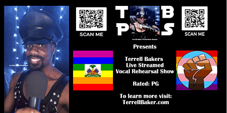 Terrell Bakers Live Streamed Vocal Rehearsal Show