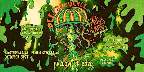 Deep Sequence & Monk is King Halloween tickets