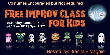 Free Improv Classes for Kids! tickets
