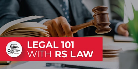 Legal 101 with RS Law tickets