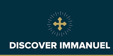 Discover Immanuel - Fall 2020 tickets