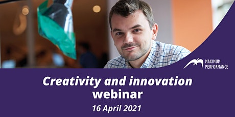 Creativity and innovation (16 April 2021) tickets