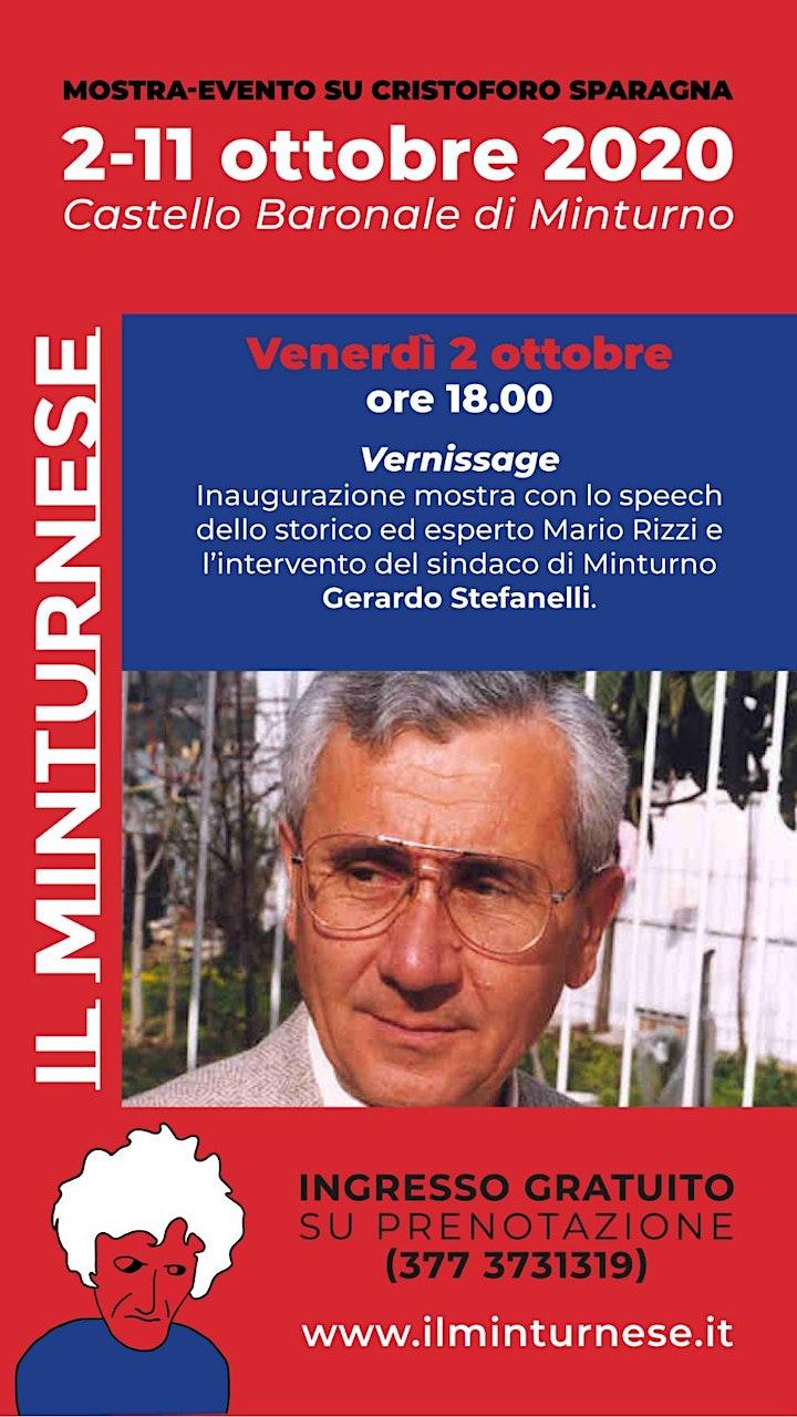 Immagine Il Minturnese - Mostra su Cristoforo Sparagna