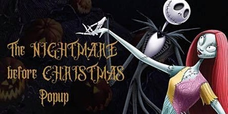 Nightmare Before Christmas Popup tickets