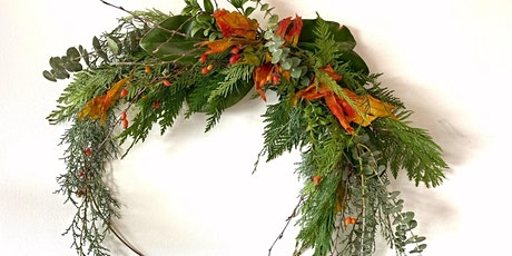 Wreath workshop with a coffee tickets