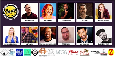 Plano Virtual Comedy Festival - Saturday Night Stand-Up Show tickets
