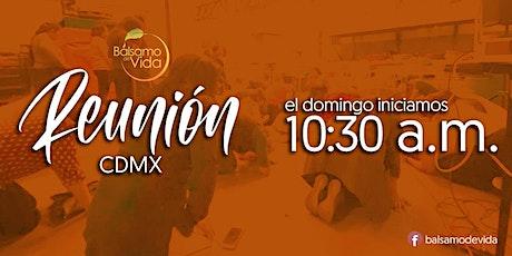 Reunión Bálsamo de Vida CDMX entradas