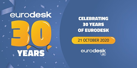 Celebrating 30 years of Eurodesk tickets