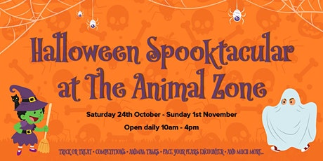 Halloween at The Animal Zone tickets