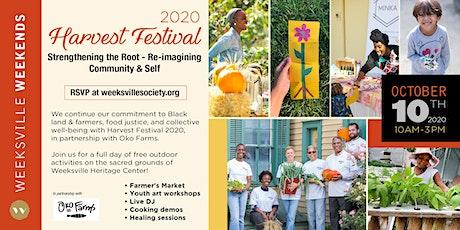 Harvest Festival 2020 tickets
