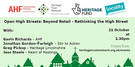 Open High Streets: Beyond Retail - Rethinking the High Street tickets