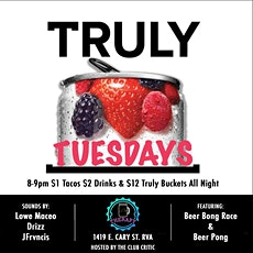 Truly Tuesdays at Therapy RVA tickets
