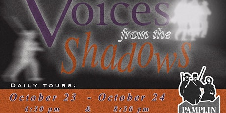 Voice From the Shadows tickets
