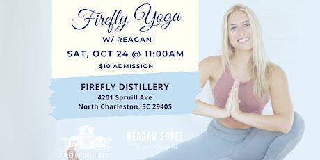 Firefly Yoga w/ Reagan Sobel - Oct 24th tickets