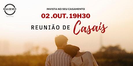 Reunião de Casais - Sexta - NOITE - 02.10.2020 ingressos