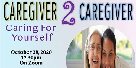 Caregiver Club: Caring For Yourself tickets