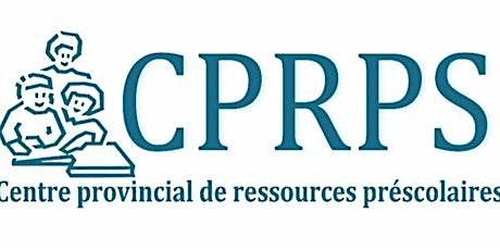CPRPS Reconnaître et gérer l'anxiété chez les enfants (0-8ans). billets