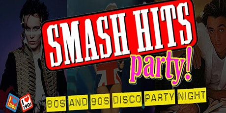 80s Smash Hits Retro Party Night tickets