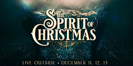 Spirit of Christmas 2020 Live Outside tickets