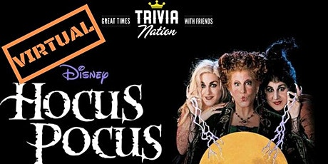 Hocus Pocus Virtual Trivia - Gift Card and Raffle Prizes! tickets