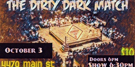 COMEDY RING - The Dirty Dark Match tickets