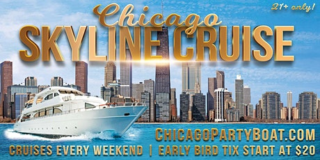 Chicago Skyline Cruise on October 3rd tickets