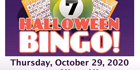 Virtual Halloween BINGO! tickets